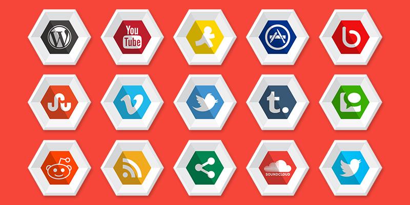 icons-social media icons