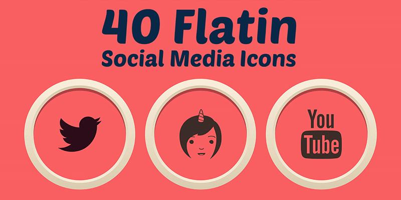 social-media-icons-flat icons-free icons