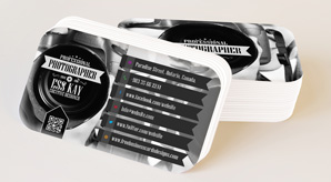 Download Free Round Corner Soft Business Card Mockup Preview Image