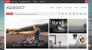 Free Customize Minimal Magazine Blog Theme-300