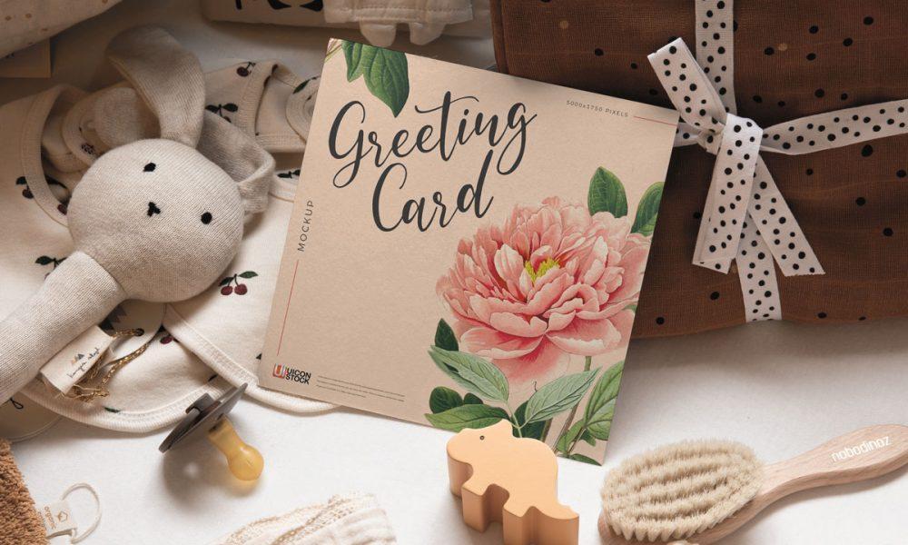 Free-Realistic-Square-Greeting-Card-Mockup